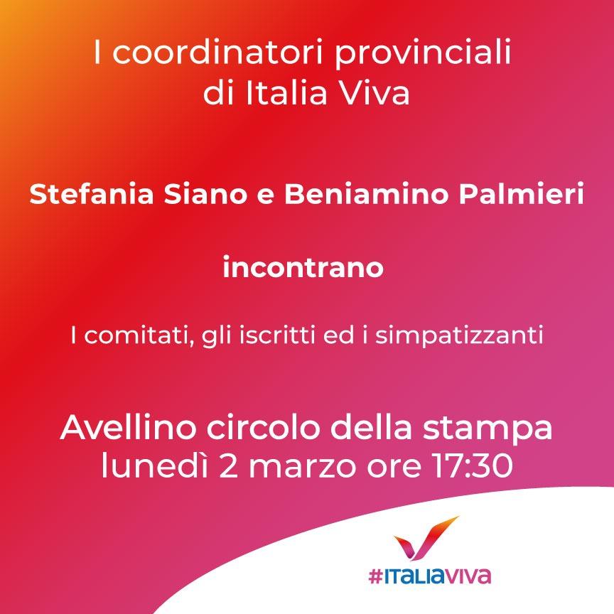 Presentazione coordinatori provinciali Avellino